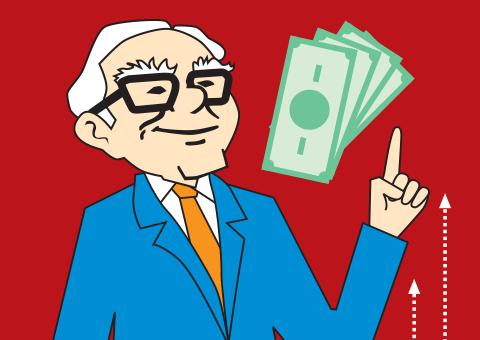 Warren Buffett busts a cash myth