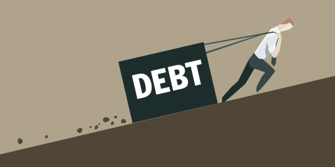 Playing with debt