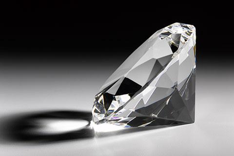 The diamond myth