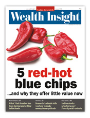 Five red hot blue chips