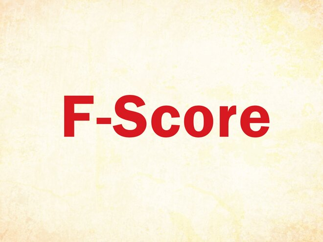 The F-Score factor