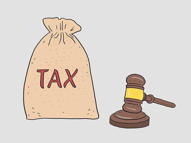 The 10 per cent tax hit