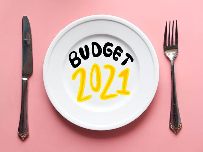 A simple budget for a simple time