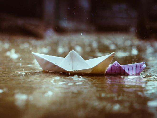 A rain-fed economy