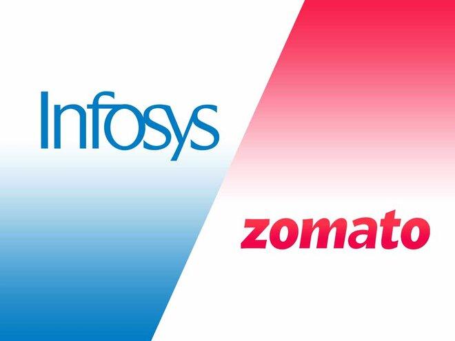 Infosys and Zomato