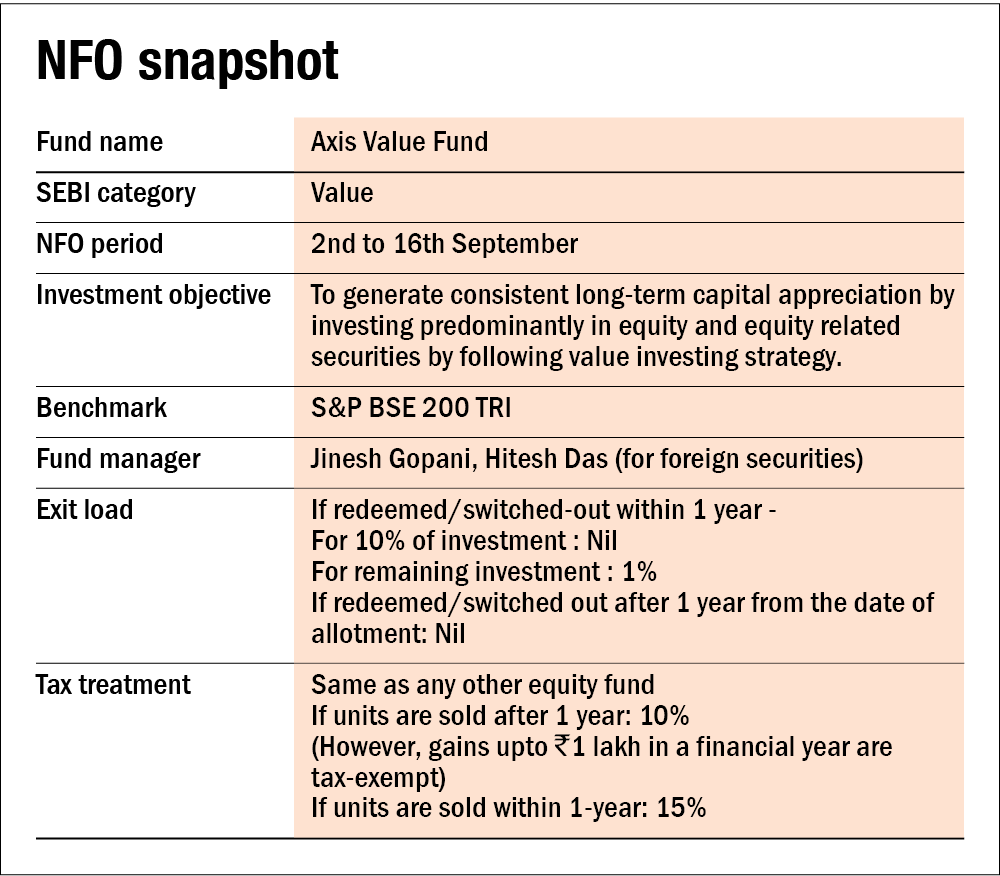 NFO review: Axis Value Fund
