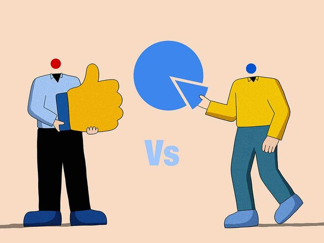 Customers vs shareholders